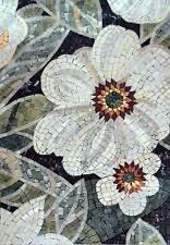 Lys Flower Handmade Mosaic