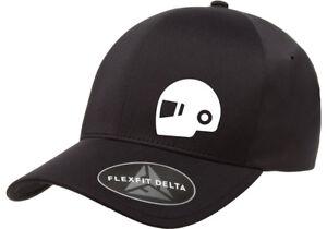 MOTORCYCLE HELMET MOTOR DELTA  FLEXFIT HAT *FREE SHIPPING IN A BOX*