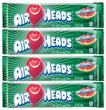 4x Air Heads Watermelon Flavor 16g Chewy Candy American Sweets