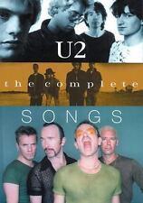 """"""" U2 """" : The Complete Songs (U2) by Williams, Debbie et al."""