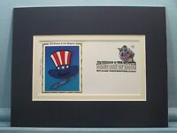 American Patriot - The Muppet Sam the Eagle & First Day Cover of his own stamp