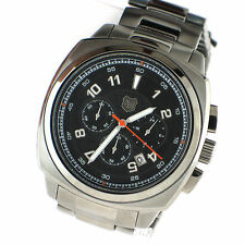 Andrew Marc Watch Mens Chronograph Heritage Bomber SS Gunmetal 47mm A21002TP