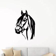 Horse Bedroom Living Room Barn Stallion Wall Art Sticker Vinyl Decals Transfer