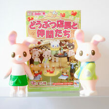 Megahouse Miniatures Animal Managers Usagi Rabbit twins Re-Ment Yomogi Komame