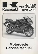 2008 KAWASAKI MOTORCYCLE NINJA ZX-14 SERVICE MANUAL 99924-1389-01 (635)