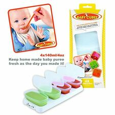 BABY CUBES 140ml/4oz - FOOD STORAGE CONTAINERS