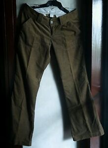 ABERCROMBIE AND FITCH WOMEN'S CORDUROY BOOTCUT PANTS,size 4