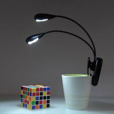 Hot Sale Adjustable USB Rechargeable LED Read Light Clip-on Clamp Bed Table Lamp