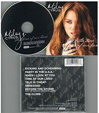 Miley Cyrus ‎– The Time Of Our Lives CD  Album 2009