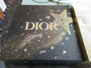 Genuine Dior Large Gift Box with white Tissue & 4 m of Dior Ribbon
