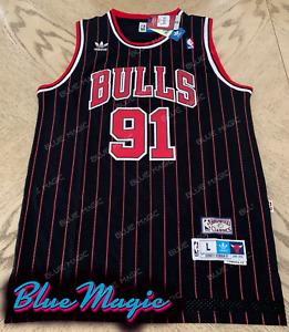 XYFF Camiseta de Baloncesto para Hombre-Dennis Rodman Jersey de los Bulls de Chicago # 91 versi/ón Retro Ropa de Entrenamiento para Hombres C/ómoda
