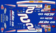 #2 Kevin Harvick Ac Delco Chevy 2000 1/64th Ho Scale Slot Car Decals