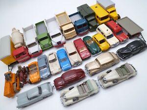 VINTAGE WIKING HO 1/87 MODEL LOT x29 MAN TRUCK MERCEDES PORSCHE BMW ETC 1970/80s