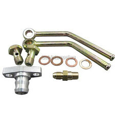 CXRacing Turbo Charger Water + Oil Fittings Accessory kit For T3 GT35 GT35R