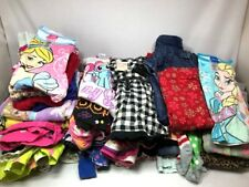 Girl Clothes Toddler Lot of 50 Pieces Sz 2T to 5T Assorted Shirts Pants Pajamas