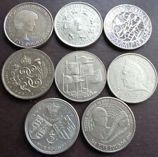 1990 - 2011 Elizabeth II £5 Five Pound Crown - Choose Your Year