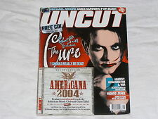 UNCUT magazine August 2004 #87 robert smith The CURE + Americana CD unreleased