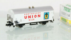 "Minitrix N 15501-14 Bierwagen ""Dortmunder Union"" DB neuwertig in OVP GL6911"