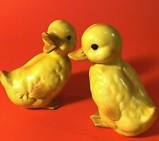 Lefton Duckling Figurines Vintage Set Of 2