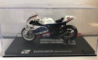 "DIE CAST "" APRILIA RSW250 ALEX DE ANGELIS 2005 "" MOTO GP SCALA 1/24"