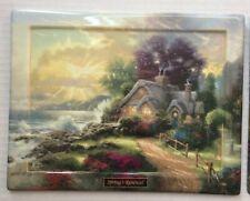 Thomas Kinkade Springs Renewal Seasons Of Reflection Ceramic Plaque Limited Ed