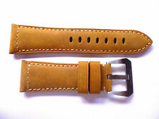 Leather strap band 26mm for Panerai --- Pelle Cinturino 26 mm 26/22mm