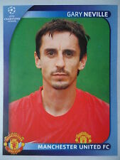 Panini 11 Gary Neville Manchester United UEFA CL 2008/09