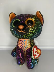 "Spellbound The Cat Ty Beanie Boos Halloween 6""/15cm"
