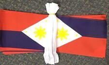 Philippines 9m Bunting Indoor Outdoor Cloth Filipino Pilipinas Tagalog Manila bn