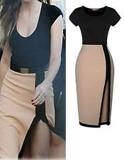 Unbranded Women's Knee Length Stretch, Bodycon Business Dresses