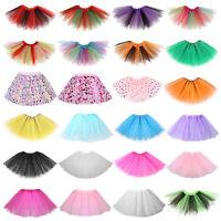 Cute Baby Kids Girls Tutu Skirt Princess Dressup Party Costume Ballet Dance Set