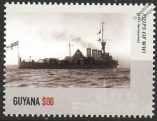 HMS INCONSTANT (1914) Arethusa-Class Light Cruiser WWI Royal Navy Warship Stamp