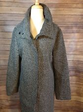 Spiegel Size 14 black and white tweed Coat