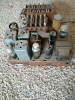 ANTIQUE ,VINTAGE, DECO ,COLLECTIBLE - OLD TUBE RADIO ZENITH 6S361 chassis