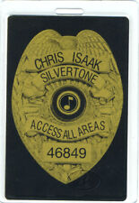CHRIS ISAAK 1989-99 TOUR LAMINATED BACKSTAGE PASS