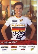 CYCLISME carte cycliste JOCHEN KAB équipe ALB-GOLD signée