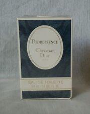 VINTAGE DIORESSENCE Christian Dior eau de toilette 54ml splash, sealed. PRE-BARC