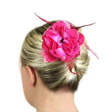 Wedding Hair Fascinators Flowers Bridal Accessories Ladies Head Hair Pieces Clip