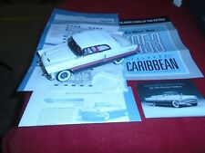 Franklin Mint '55 Packard Caribbean Convertible With Paperwork