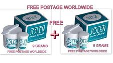 9 gm PACK Jolen Creme Bleach Lightens Dark Facial Hair Cream BUY 1 GET 1 FREE