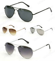 Retro Aviator Sunglasses Vintage Multi-color New Men Women Fashion Frame Glasses