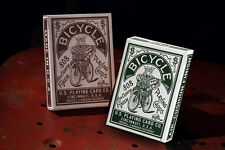 Bicycle Autobike Brown & Green Playing cards Deck brand new sealed