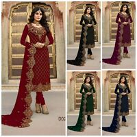 BOLLYWOOD ETHNIC DESIGNER PARTY SALWAR KAMEEZ INDIAN SUIT ANARKALI DRESS FM