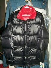 Michael Kors ~ Quilted Down Filled Black Puffer Jacket Coat ~ L ~ MSRP $190