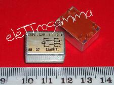 rele relais relay 12 volt 12 v 2 A doppio scambio c2h-1-12v