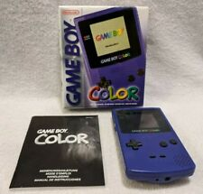 Nintendo Game Boy Color (GBC / Gameboy Color) in OVP - Lila (Grape)