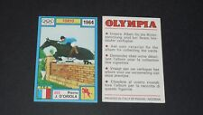 225 1964 D'ORIOLA FRANCE PANINI OLYMPIA 1896-1972 JEUX OLYMPIQUES OLYMPIC GAMES