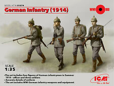 ICM 1/35 German Infantry 1914 # 35679