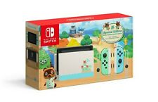 00004000 New Nintendo Switch Console, Animal Crossing New Horizons Edition - Free Ship