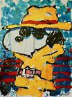 """Tom Everhart """"Undercover in Beverly Hills""""  """"SNOOPY""""  Lithograph S/N  with COA"""